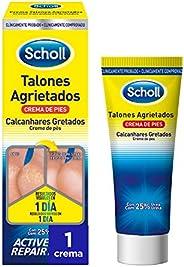Scholl Crema de Pies Para Talones Agrietados, con Urea y Keratina - 60 ml