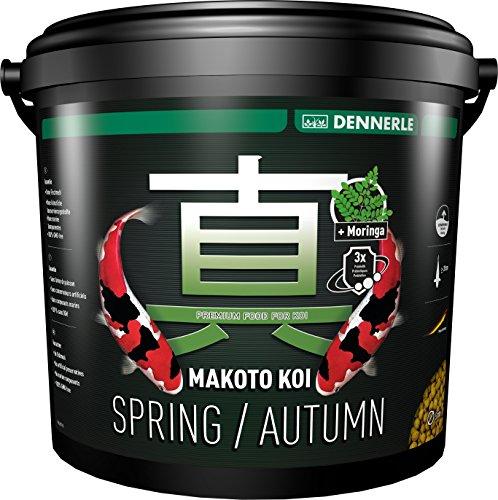 Dennerle Spring/Autumn Makoto Koï Aliment Complet pour Poisson 5 mm 5 L
