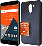Wileyfox Swift 2 Plus - 32GB + 3GB 4G SIM-Free Smartphone with Screen Replacement Card and Hard Case - Midnight