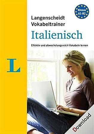 Langenscheidt Vokabeltrainer 7.0 Italienisch [PC Download]