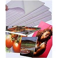 PPD DIN A4 Foto Foamboard Leichtstoffplatte Leichtschaumplatte weiß, selbstklebend mit Haken – DIN A4 x 3 Stück FOAM-A4-3