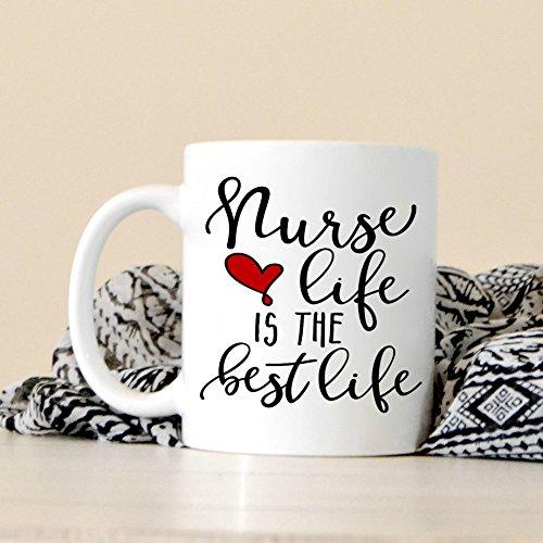Alicert5II Krankenpflege-Kaffeetasse-Abschluss-Geschenk Kaffeetasse-Geschenk f¨¹r RN-Geschenk f¨¹r Krankenschwester-Abschluss Ausgebildete Krankenschwester-Becher-Geschenke unter 11 (Krankenpflege Abschluss Geschenke)