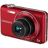Samsung ST93 Digitalkamera (16 Megapixel, 5-fach opt. Zoom, 6,9 cm (2,7 Zoll) Display, bildstabilisiert) rot