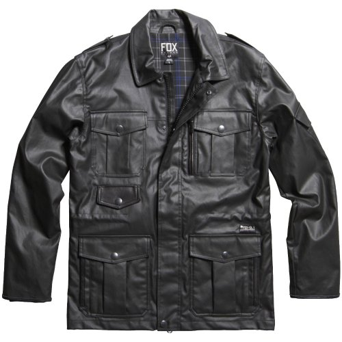 Fox - - Hommes optique Jacket Noir