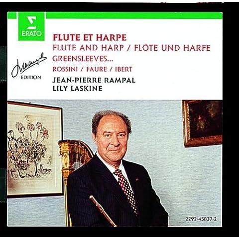 Piezas Para Flauta Y Arpa (Rampal-Laskin