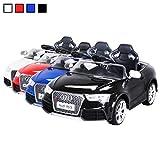 Actionbikes Motors Kinder Elektroauto Lizenzierter Audi RS5 Lizenziert 2 x 35 Watt Motor Original Elektro Kinderauto Kinderfahrzeug Spielzeug für Kinder Kinderspielzeug (Schwarz)