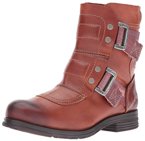 FLY London Damen Seli700fly Combat Boots Brick