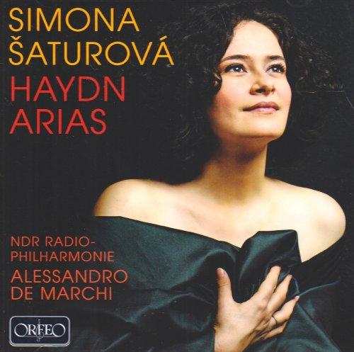 Simona Saturova chante Haydn : Airs d'opéras. Marchi.