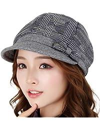YXLMZ Sombrero de Mujer Sombrero de otoño Elegante Sombrero de Caballero Boina  Otoño e Invierno 5e1cba2719fc