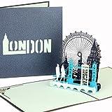 Cologne Cards Carte 3D Pop Up «London Calling!»