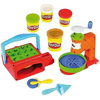 Play Doh Pizzeria Twirl And Top Pizza Shop Amazon Co Uk