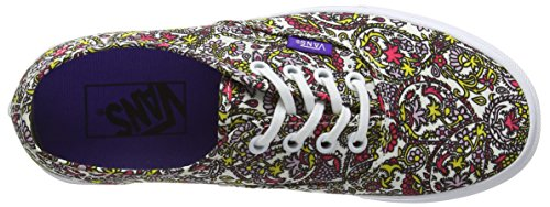 Vans Authentic, Sneakers Basses Mixte Adulte Multicolore (Liberty/Paisley/True White)