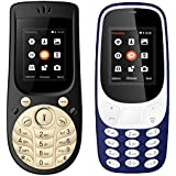 I Kall 1.8 Inch Mobile Combo Of K3310 And K18 New (Dark Blue And Black)