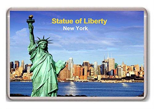 United States/New York/Statue of Liberty/fridge/magnet.! - Kühlschrankmagnet