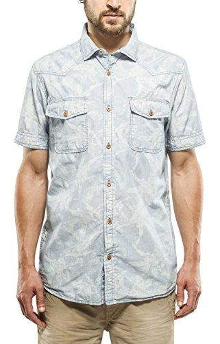 PETROL INDUSTRIES Shirt Ss, Chemise à Manches Courtes Homme 570