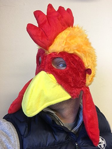 Huhn Vogel Hut Maske Film Qualitätskostüm Farm Tiere