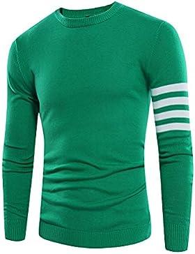 QIN&X Hombre de tejer un suéter ligero de algodón Jersey Puente Otoño Invierno