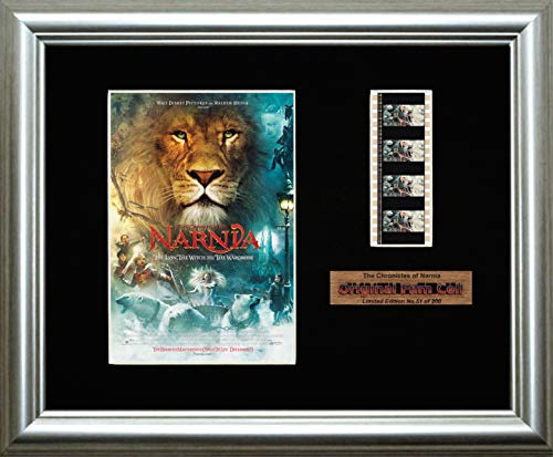 www.filmcellsdirect.com Gerahmtes Filmbild, Motiv: The Chronicles of Narnia - The Löwe, The Hexe and The Wardrobe