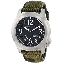 Momentum Herren-Armbanduhr XL BASE LAYER Analog Quarz Textil 1M-SP76B4