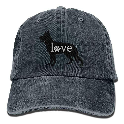 Axige888 German Shepherd Love Dog Paw Pints Adjustable...