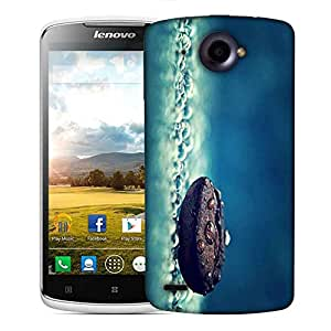 Snoogg Coffee Bean Drop Water Designer Protective Phone Back Case Cover For Lenovo S920