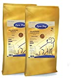12,5 kg Lyra Pet Dog Junior + 12,5 kg Lyra Pet Dog Adult Lamm & Reis Hundefutter