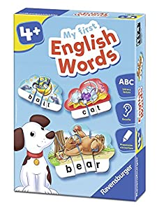 Ravensburger- Juego de Aprendizaje, My First English Words (24102)