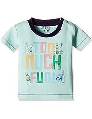 Upto 50% Off On Kidswear GIMI & JONY Men's Round Neck T-Shirt low price image 4