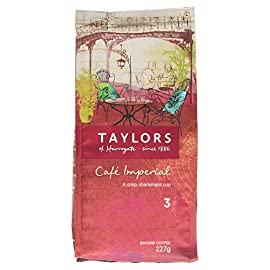 Taylors of Harrogate Café Imperial Medium Roast Ground Coffee, 227g