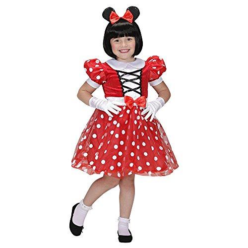 Vestito minnie carnevale bambina