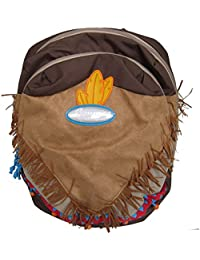 Preisvergleich für Samsonite Sammies 'Wigwam' Kinderrucksack dunkelbraun/braun/khaki, Farbe:Braun