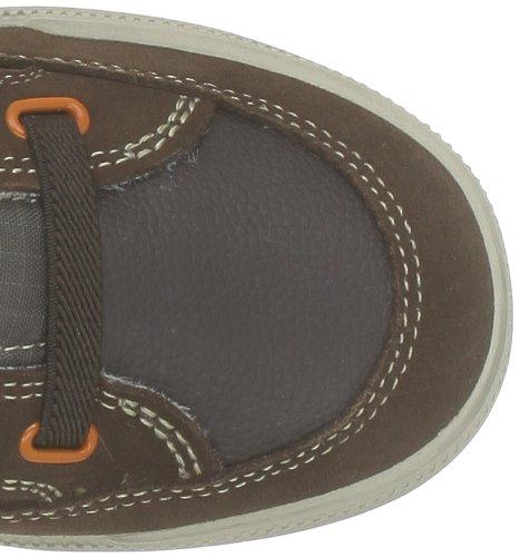 Geox J Elvis B, Jungen Sneaker Braun - Marron (Brown/Orange)