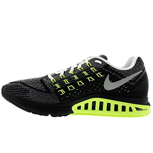 NIKE Chaussure de running NIKE Air Zoom Structure 18 pour Homme noir/blanc