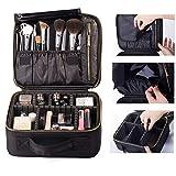 ROWNYEON Sacchetto Cosmetico Trucco Artisti / Caso Di Trucco / EVA Portatile Trucco Caso Dell'agenda Elettronica (Piccola Nero)