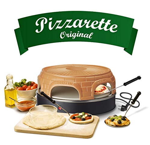 Horno Emerio Pizzarette original para mini pizza - 6 personas