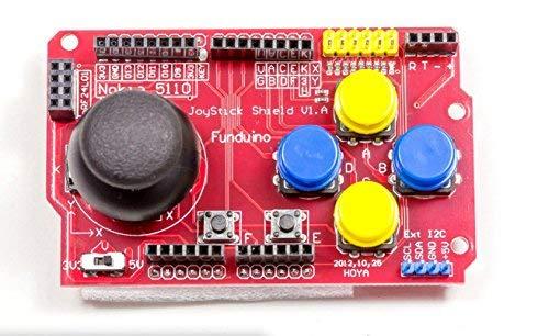 Joy Stick Keypad Shield Gamepad PS2para Arduino