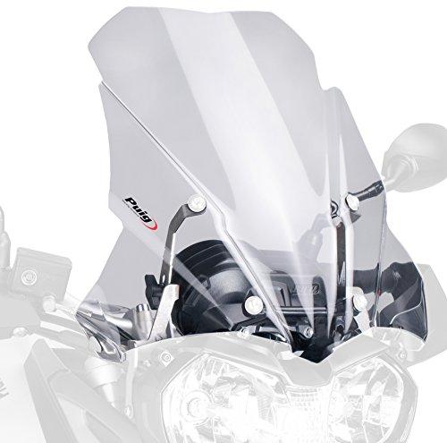 Puig Touring 5652W - Parabrezza per moto da turismo, misura media, trasparente