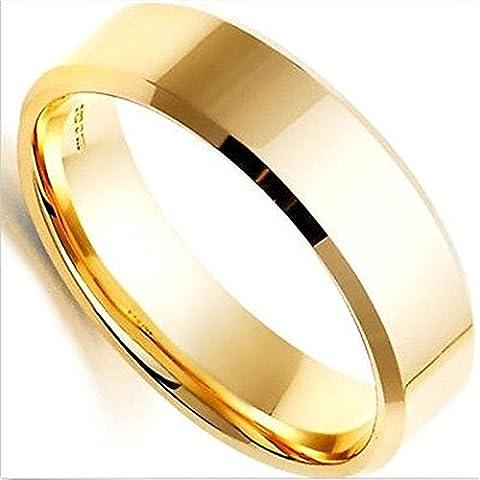 Merssavo Schmuck Herren-Ring Damen-Ring Titan-Stahl Vintage Ring,