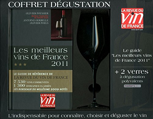 Coffret dégustation Les meilleurs vins de France 2011 : Avec deux verres à dégustation