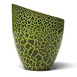 Rosemarie Schulz Teelichtglas Teelichthalter Windlicht Glas Grün (Grün, 13x11 cm)