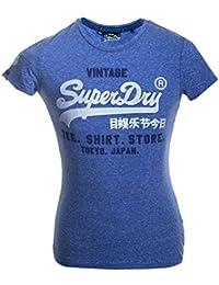 Superdry Damen Pullunder Shop Duo Tee