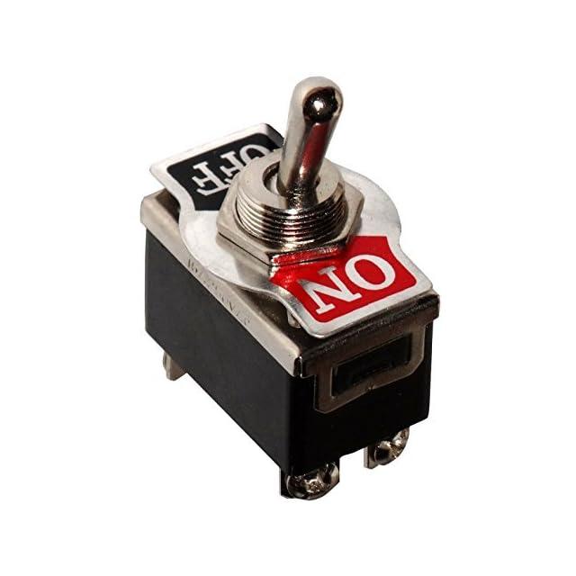 Interrupteur commutateur à levier DP3T ON-OFF-ON 1A//250V 3 positions