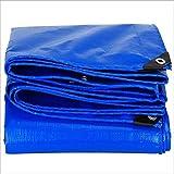 JIE KE Lona/Paño Impermeable, Azul PVC...