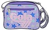 BORSA GOLA MINI REDFORD GLITTER MULTI STARS, lilac/violet