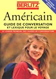 AMERICAIN. Guide de conversation et lexique pour le voyage