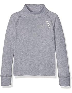 Odlo - Camiseta de manga larga para niño, ref. 150199, 150199, gris, 3 años