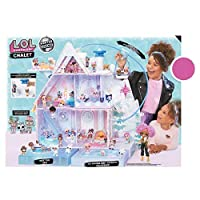 L.O.L. Surprise Winter Disco Chalet Doll House with 95+ Surprises & Exclusive Family