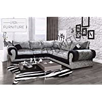 Amazon Co Uk Silver Sofas Couches Living Room Furniture Home