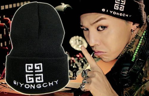 Die Damen Zeichenstift Waren auch Strickm?tze Herren G-Dragon tr?gt stilvolle sehr cool BIGBANG GIYONGCHY Ji Sea Strickm?tze G-DRAGON Kwon Ji Young Lieblings (Japan-Import)