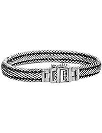 Buddha To Buddha Chain Women's Bracelet Silver J080–Size D